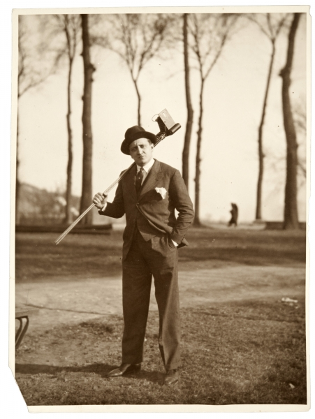 Gerardo Matos Rodríguez. Europa. Año 1930 (aprox.). ( (Foto: Archivo Matos Rodríguez. Autor: s/d.).