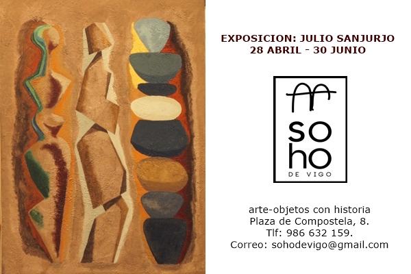 Cartel Exposición Julio Sanjurjo