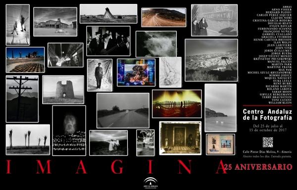 Cartel exposición IMAGINA. 25 ANIVERSARIO