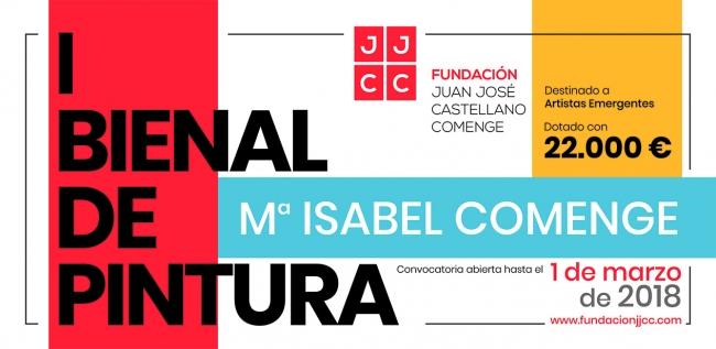 1ª Bienal de Pintura Mª Isabel Comenge (2018)
