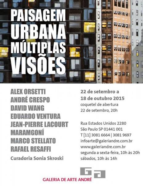 Paisagem urbana. Múltiplas visões