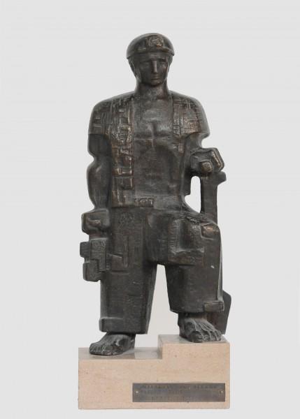 Higinio Vázquez García | Ir al evento: 'Trayectoria escultórica de Higinio Vázquez'. Exposición de Escultura en Museo Tiflológico / Madrid, España
