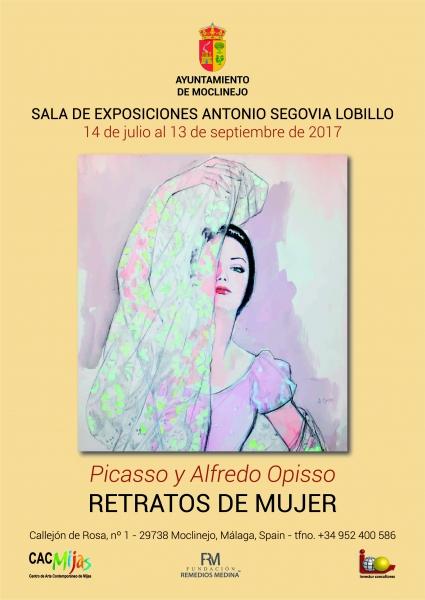 Picasso y Alferdo Opisso. Retratos de mujer