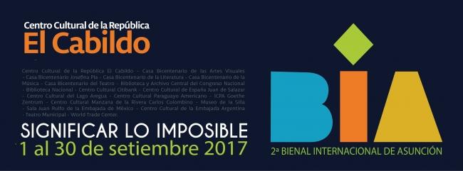 2 Bienal Internacional de Asunción 2017