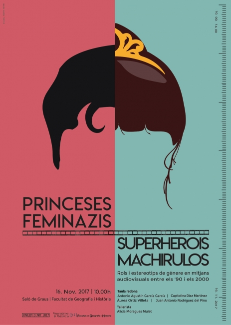 Princesas, feminazis, superhéroes y machirulos
