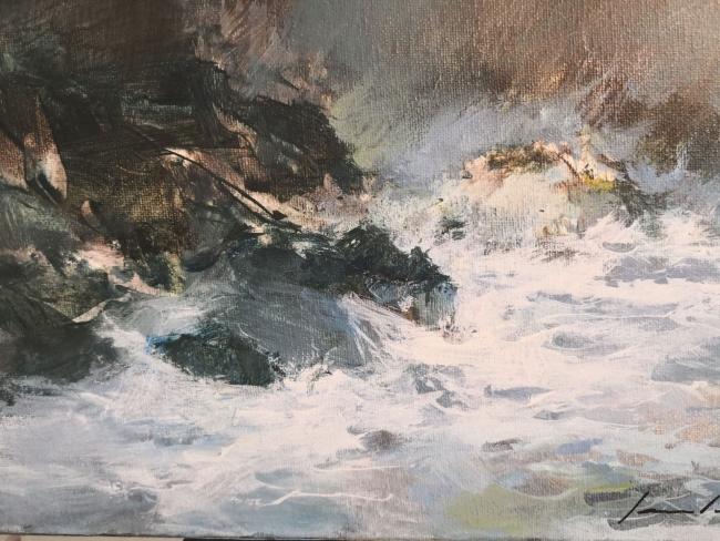 Laureano Vidal – Cortesía de la Sala de Arte Nov | Ir al evento: 'Laureano Vidal'. Exposición de Pintura en Nov Sala de Arte / A Coruña, España