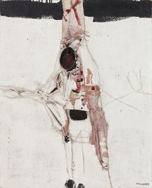Homúnculo 3. Manolo Millares, 1970