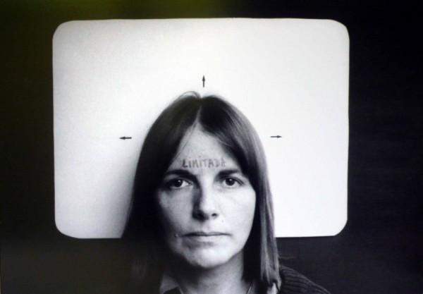 Marie Orensanz, Limitada (Limited), 1978. Photograph, edition 1 of 5, 13 3/4 x 19 11/16 in. (35 x 50 cm). Courtesy Alejandra Von Hartz Gallery. ©Marie Orensanz