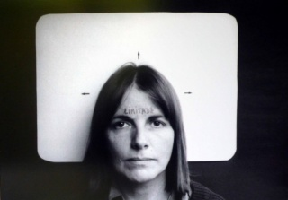 Marie Orensanz, Limitada (Limited), 1978. Photograph, edition 1 of 5, 13 3/4 x 19 11/16 in. (35 x 50 cm). Courtesy Alejandra Von Hartz Gallery. ©Marie Orensanz
