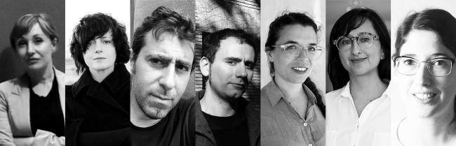 Imagen de algunos de los ponentes | Ir al evento: 'Les Clíniques d'Es Baluard'. Curso de Arte digital, Video arte en Es Baluard, Museo de Arte Moderno y Contemporáneo de Palma / Palma, Baleares, España