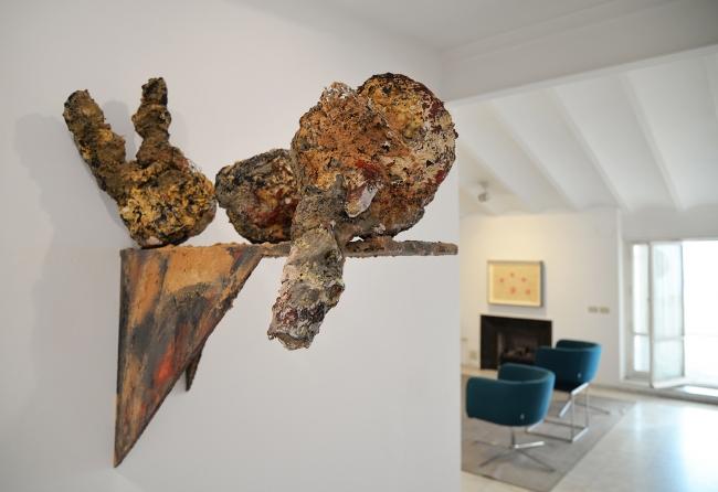 Escultura sin título de Phyllida Barlow, 2013 | Ir al evento: 'Hago, deshago y rehago'. Exposición de Escultura, Fotografía, Pintura en Ana Serratosa Arte / Valencia, España
