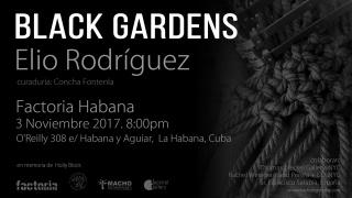 BLACK GARDENS. Imagen cortesía Elio Rodriguez