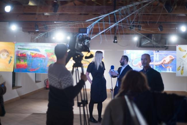 Inauguración | Ir al evento: 'Hula Hula Hoop!!'. Exposición de Artes gráficas, Diseño, Pintura en Museo de San Javier / San Javier, Murcia, España