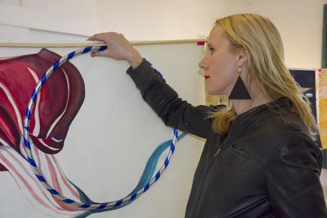 Katarzyna Rogowicz. Hula hula hoop!! – Cortesía de la artista | Ir al evento: 'Hula Hula Hoop!!'. Exposición de Artes gráficas, Diseño, Pintura en Museo de San Javier / San Javier, Murcia, España