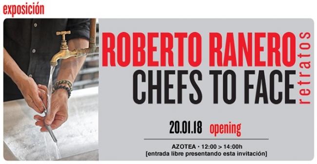 Roberto Ranero. Chefs to face. Retratos | Ir al evento: 'Chefs to face. Retratos'. Exposición de Fotografía en Círculo de Bellas Artes de Madrid - Sala Azotea / Madrid, España