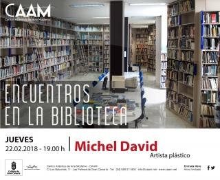 Encuentros en la biblioteca: Michel David