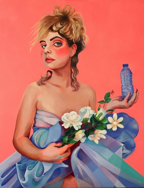Mai Blanco. Mujer flor – Cortesía de MISCELANEA