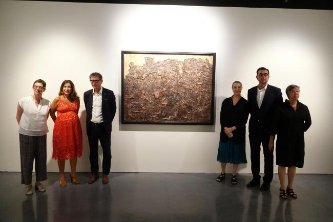 """Inauguración de la exposición """"Jean Dubuffet. El viajero sin brújula"""" — Cortesía del Centre Pompidou Málaga"""