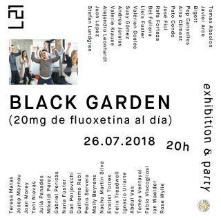 BLACK GARDEN (20mg de fluoxetina al día). Imagen cortesía Louis 21 (L21)