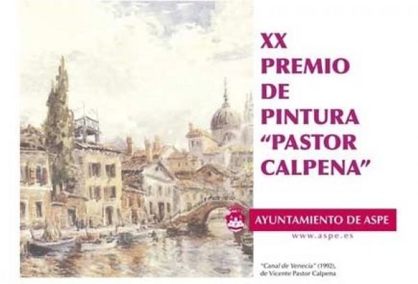 XX PREMIO DE PINTURA 'PINTOR CALPENA' DEL AYUNTAMIENTO DE ASPE