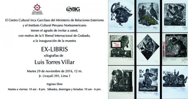 Luis Torres Villar, Ex-libris