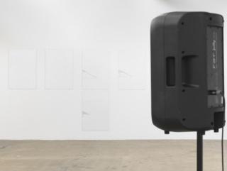 Itziar Okariz, Dream Diary: From November 22, 2016 to January 11, 2017. Installationsansicht Kunsthaus Baselland, 2017. Foto: Serge Hasenböhler