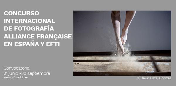 Concurso internacional de Fotografía Alliance française en Espagne y EFTI