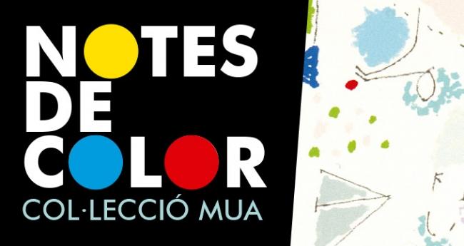 Notes de color. Col·lecció MUA