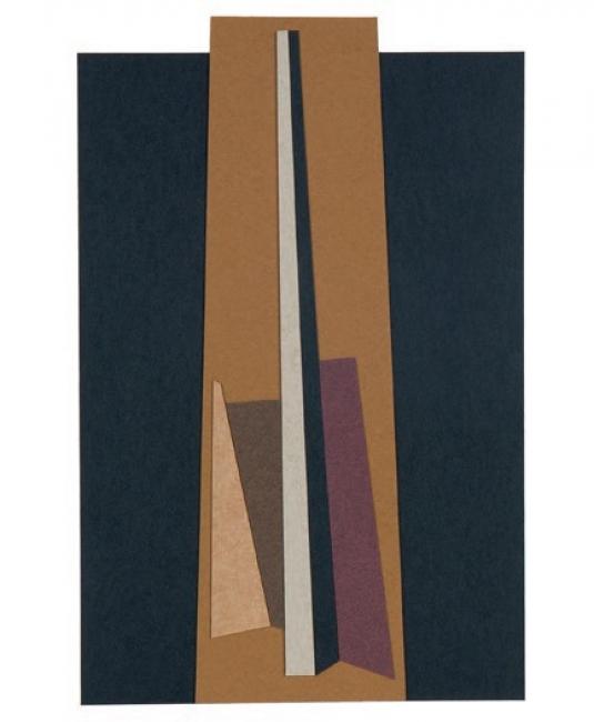 Juan Manuel Puente, s/t, 2014. Collage/papel, 40x33 cm. – Cortesía de la galería Cornión