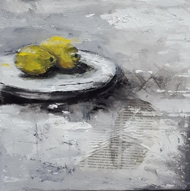 Óscar Cabana, Limones – Cortesía de la galería Federica No Era Tonta