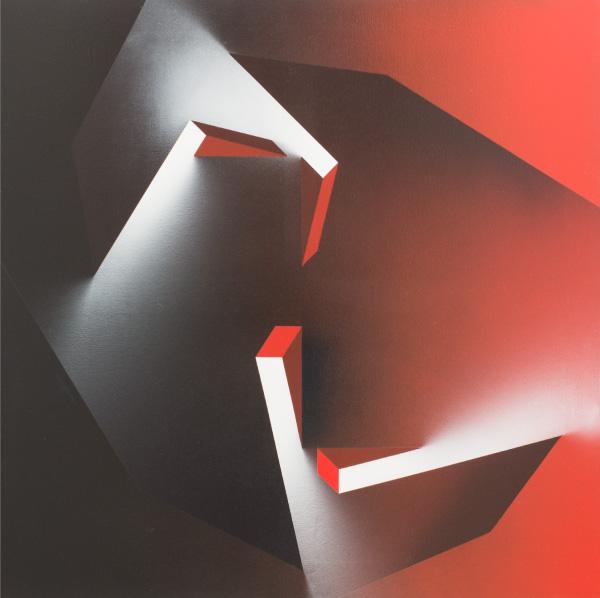 Salvador Costanzo, Draco XI, 2011, 100x100 cm.