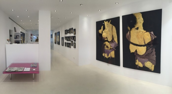Annette Merrild | Ir al evento: 'Sculptural Painting'. Exposición de Escultura en Ventana Contemporary Ibiza / Eivissa, Baleares, España