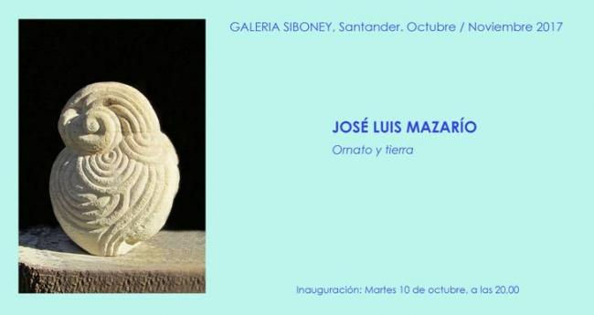 José Luis Mazaríio. Ornato y tierra