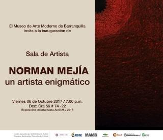 Invitación Norman Mejía