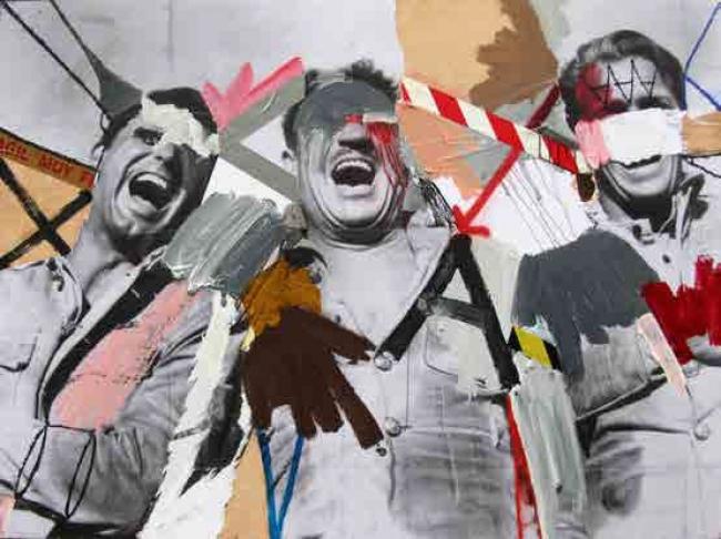 Skum – Cortesía de la Galería Contrast   Ir al evento: 'Vicio, estropicio y desperdicio'. Exposición de Arte urbano, Pintura en Contrast / Barcelona, España