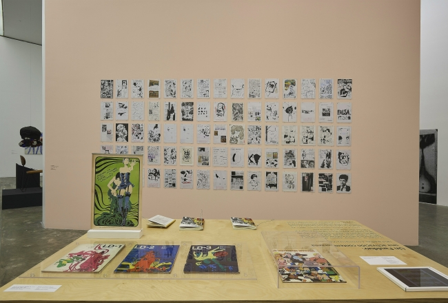 LD, Literatura Dibujada. Núm. 1, 2 y 3. Buenos Aires, 1968-1969 – Cortesía del Museu d'Art Contemporani de Barcelona (MACBA)