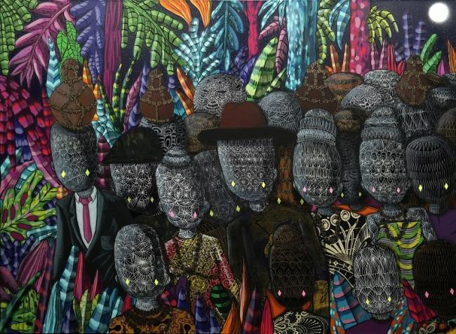 Toz - Cultura Insônia - Marcha do Povo Insônia (2015) - Foto © Henrique Madeira — Cortesía de CAIXA Cultural Rio de Janeiro