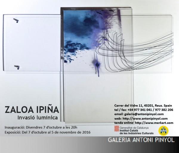 Zaloa Ipiña, Invasió lumínica