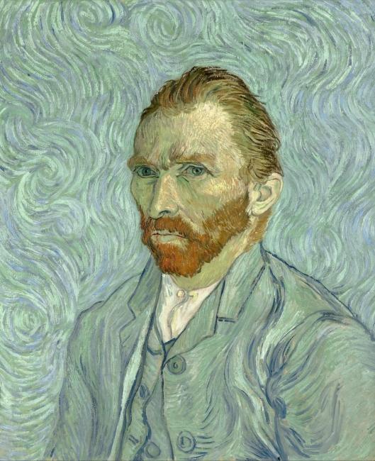 Van Gogh, Autorretrato – Cortesía de Grande Exhibitions