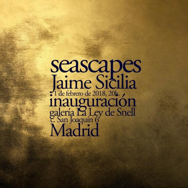 Jaime Sicilia. Seascapes
