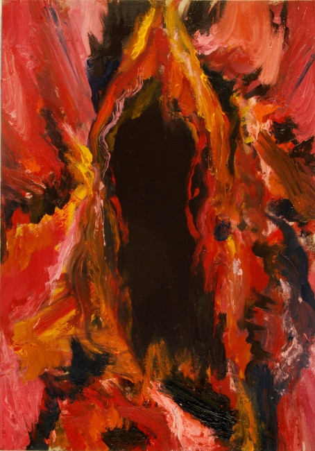 Oriol Sàbat, Sexe i Misteri, 2010,oli, 116x81 – Cortesía de Alexandra Rybina