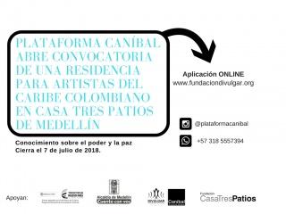Convocatoria Caníbal para Residencia en Medellín
