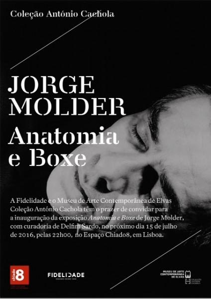 Jorge Molder, Anatomia e Boxe | Ir al evento: 'Anatomia e Boxe'. Exposición en Chiado 8 - Espaço Fidelidade Arte Contemporânea / Lisboa, Portugal