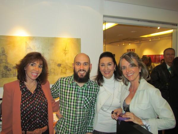Carla Mourão,Patricia Lopes e Tania Sciacco