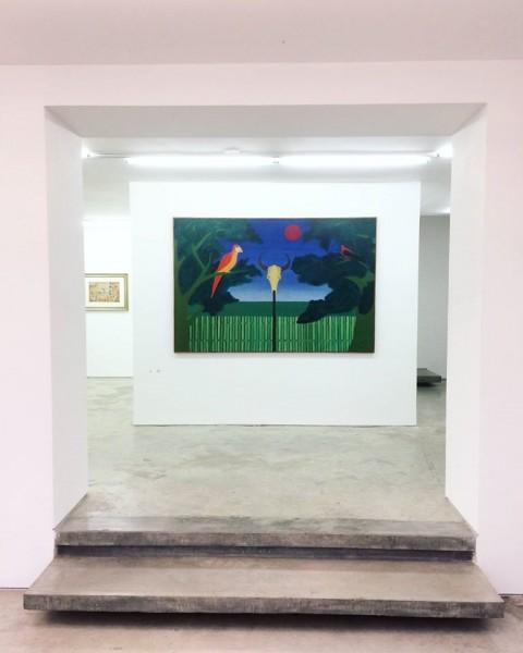 """Obra de 1965 da artista Djanira, que integra a coletiva \""""Toda janela é um projétil, é um projeto, é uma paisagem\"""""""