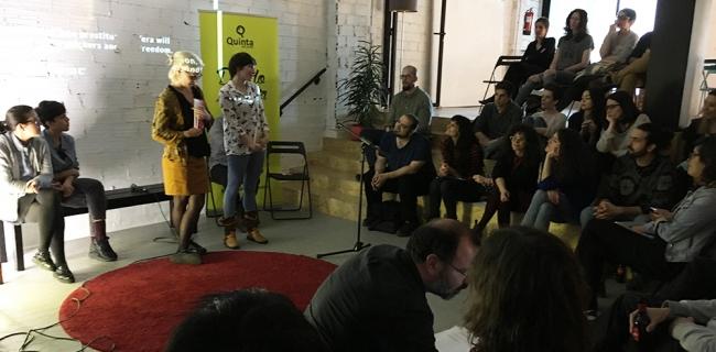 becas creaquinta | Ir al evento: 'Becas Creaquinta III Audiovisual'. Beca de Arte digital, Arte sonoro, Cine, Video arte, Videoperformance