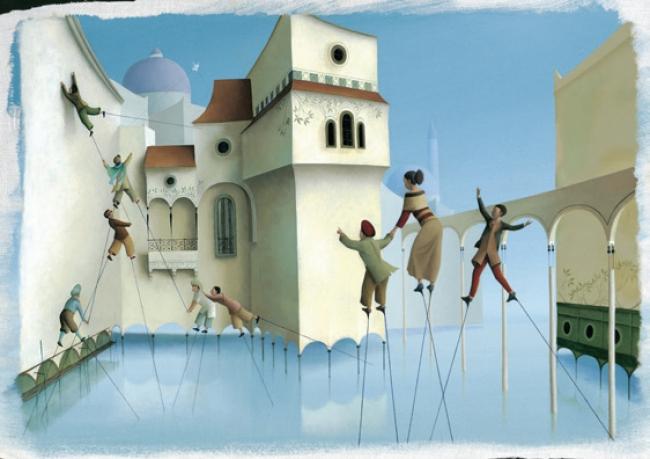 ÈRIC PUYBARET. LOS ZANCOS ROJOS – Cortesía del MUSEO ABC