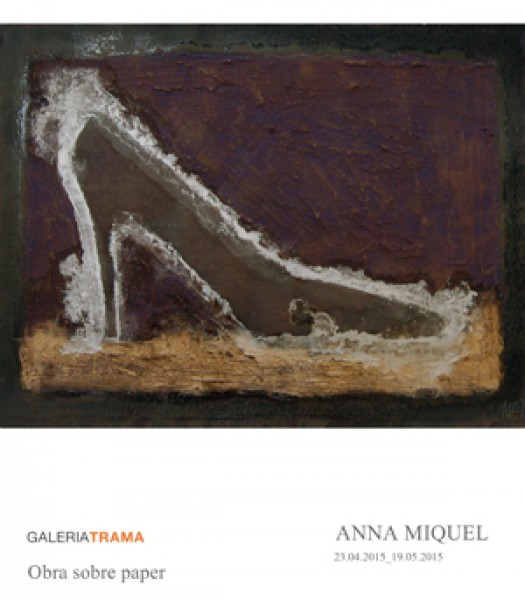 Anna Miquel, Obra sobre paper