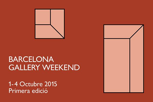 Barcelona Gallery Weekend 2015