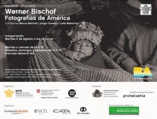 Werner Bischof. Fotografías de América